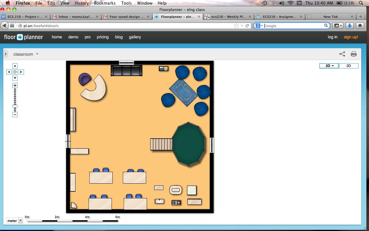 Classroom Floor Plan Kaylene Bawden