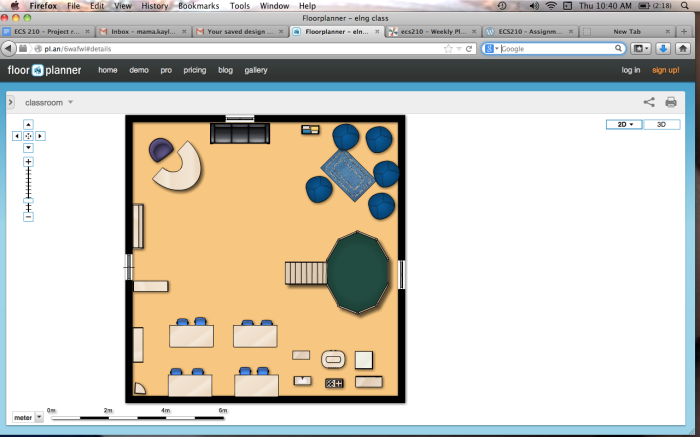 Classroom floor plan kaylene bawden for Www floorplanner